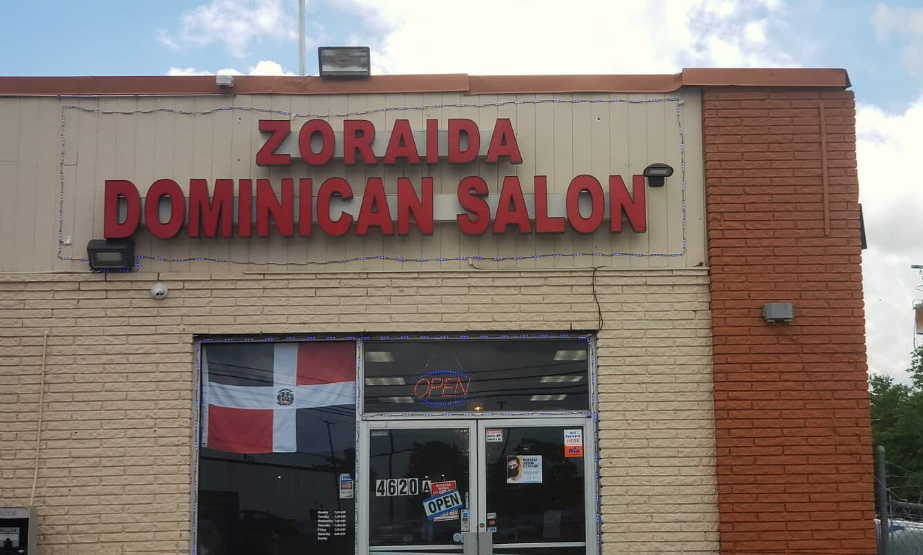 zoraida dominican salon